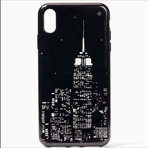 KATE SPADE iPhone X GLOW IN THE DARK EMPIRE CASE